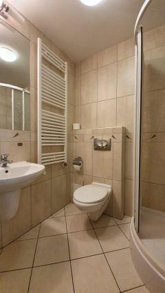 Łazienka w budynku Smrek.